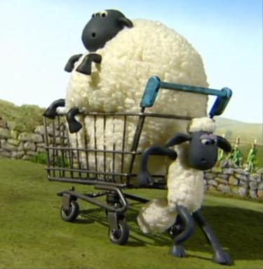 Shaun the Sheep Shirley